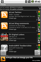 ACast - News Reader und Podcast Viewer