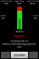 Motion & Sound Alarm