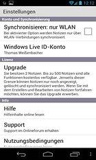 OneNote Mobile. Competencia para Evernote