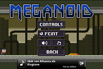 Meganoid - Retro Game für Android