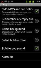 Notification Bubbles WALLPAPER – El estallido de las burbujas puede ser divertido
