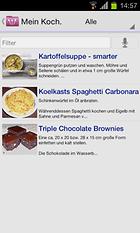 My CookBook - Die virtuelle Küchenhilfe