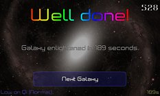 Space Guru Full - Sonnen verschmelzen und Galaxien retten