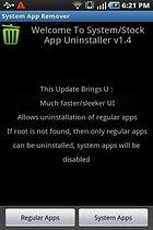 SystemApp Remover – Accès autorisé