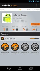 runtastic PushUps PRO – Arms of steel