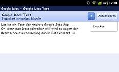 Google Docs - Zugriff auf alle Google Dokumente