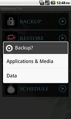MyBackup Pro -- Security Blanket For Your Data