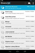 Dinamotxt - SMS vom Tablet aus senden