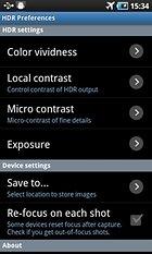 HDR Camera+ - Atteignez l'objectif photos de pro !