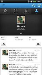 Twitter – L'application officielle pour Android