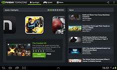 NVIDIA TegraZone - Tegra İşlemcili Cihazlara Özel Uygulama Arama Motoru