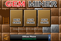 Gem Miner - Digging has never been so much fun!