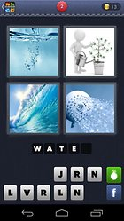 4 Pics 1 Word -- A very popular puzzle game