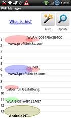 WiFi Manager - Gérer les réseaux WiFi