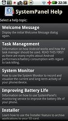 SystemPanel App / Task Manager – Monitoring und mehr