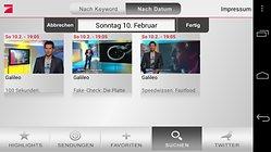 ProSieben - die App des Fernsehsenders