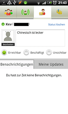 ICQ Mobile für Android