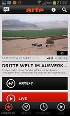 ARTE – Der Kulturkanal für unterwegs