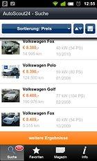 AutoScout24 to go – Auto suchen? Auto finden!