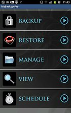 MyBackup Pro - Sicurezza facile