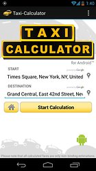 Taxi-Calculator - Trouver l'itinéraire le moins cher