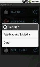 MyBackup Pro. La fiabilidad de la seguridad.