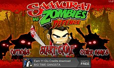 SAMURAI vs ZOMBIES DEFENSE. No te comerás  mi cerebro!