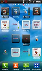 Battery Monitor Widget -- Energy Stats