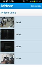 Ivideon Surveillance - Videosorveglianza mobile