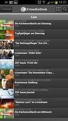 ZDFmediathek - Die Nachrichten immer mit dabei