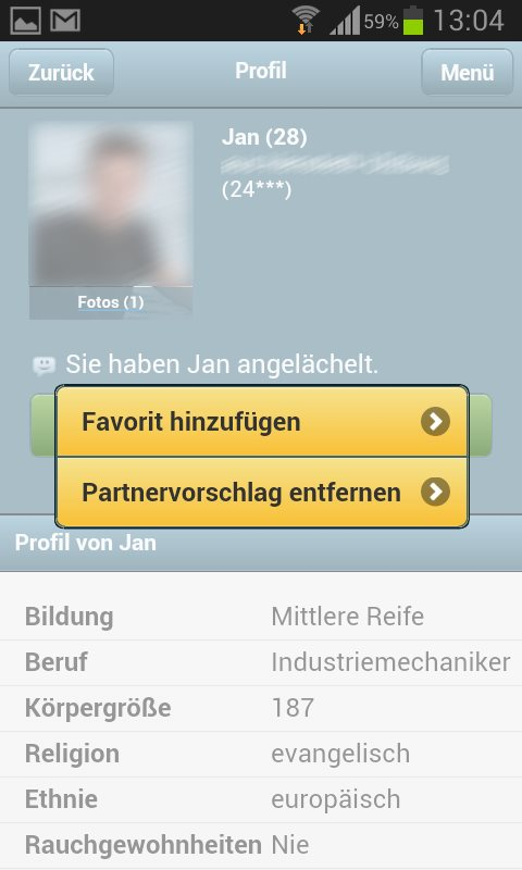 Partnersuche instagram