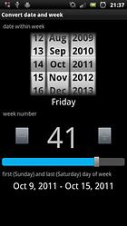 TKWeek, controla tus fechas