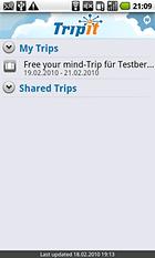 TripIt - Reisen planen