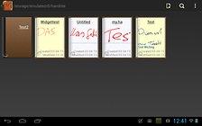 Handrite Notes Notepad Pro