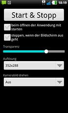 Transparenter Bildschirm PRO – Smartphone und Umgebung im Blick!