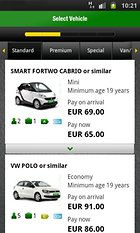 Europcar -- Renting cars made easy