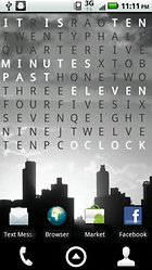 Text Clock Pro -- Read The Time