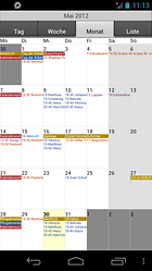 CalenGoo - une application calendrier personnalisable et widgetisable