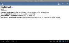 PONS Wörterbuch Englisch <-> Deutsch ADVANCED - ein umfangreiches Wörterbuch für die Hosentasche