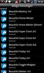 Beautiful Widgets - Le beau est aussi utile que l'utile