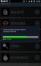 MyBackup Pro : Sauvegarder des données facilement