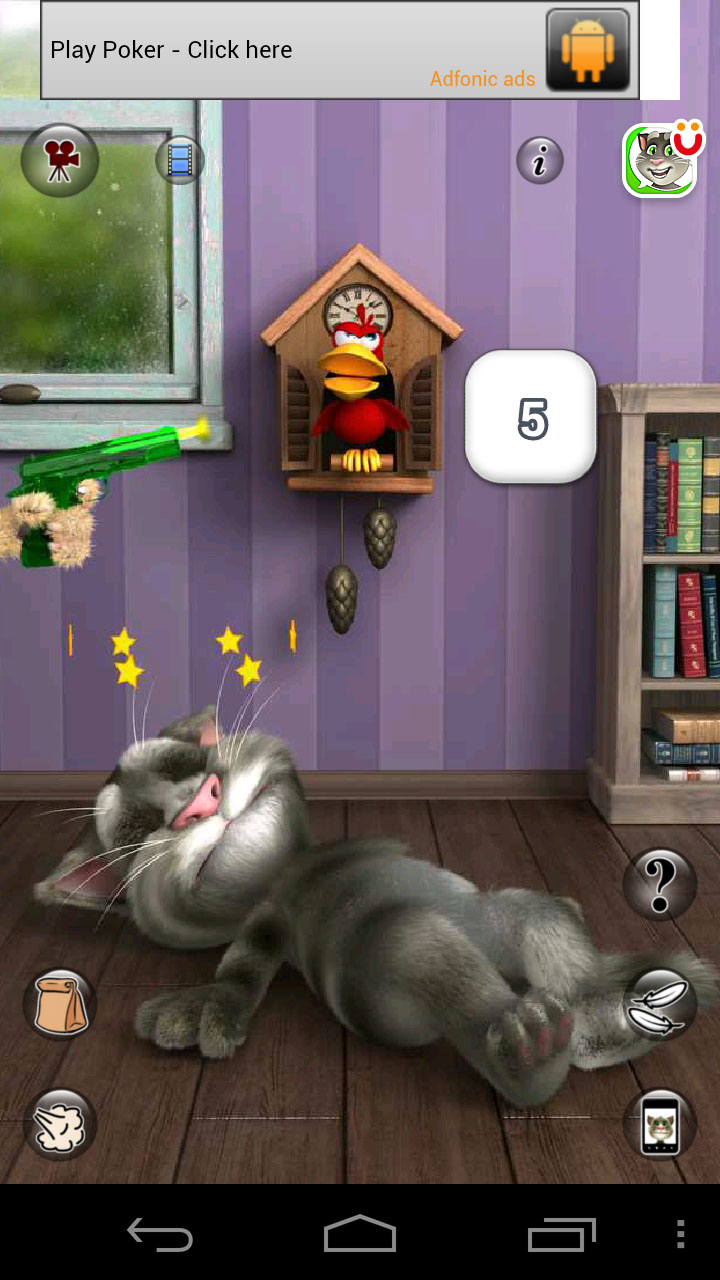 talking tom cat android games room