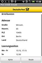 Post mobil - die Deutsche Post in die Tasche stecken
