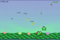 Wavecade's Frogly - don't you croak on me!