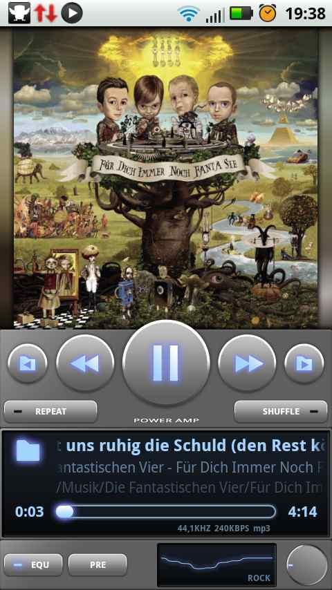 PowerAMP Music Player (PowerAMP Full Version Unlocker) - THE