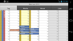 CalenGoo - une application calendrier personnalisable et widgetisable
