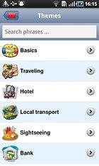 Le traducteur de voyage - Démolissez la Tour de Babel grâce à Android