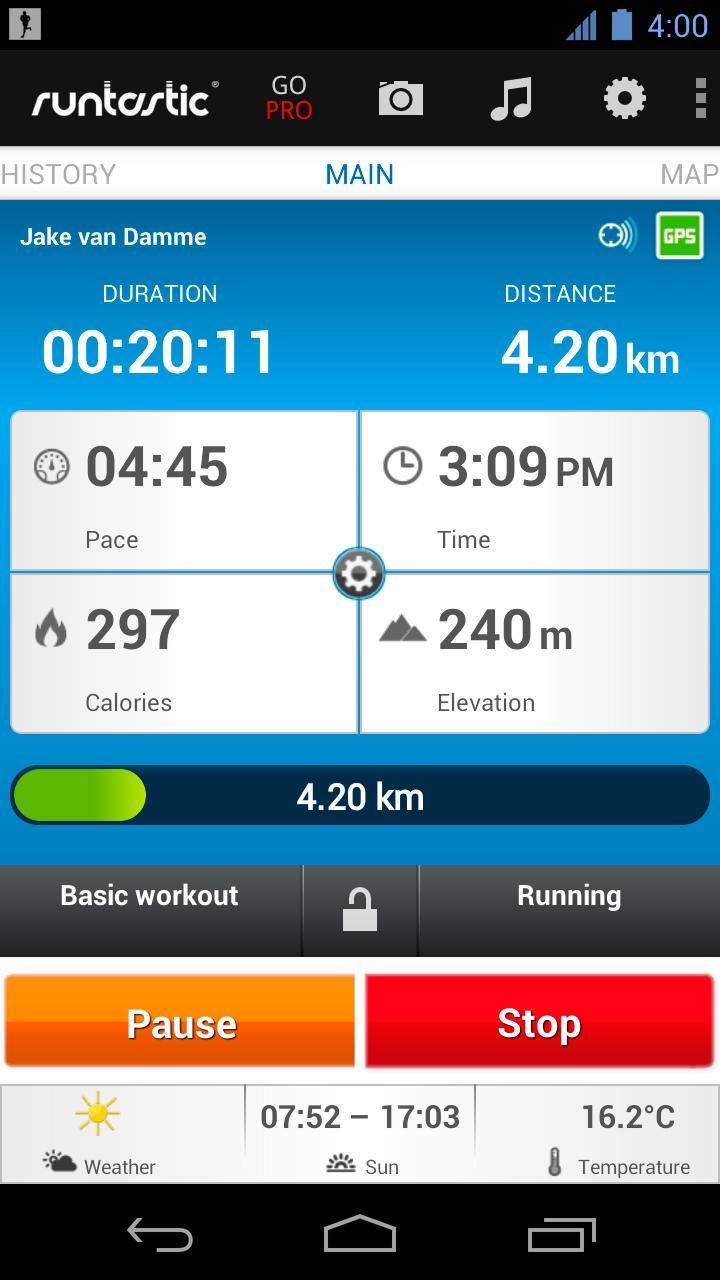 Google Phone Tracker >> Runtastic – app Android per sportivi! | AndroidPIT