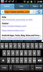 Maxthon browser for Android - Der (angeblich) Universelle