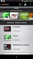 dailyme TV, Serien & Fernsehen - Mobiles Entertainment